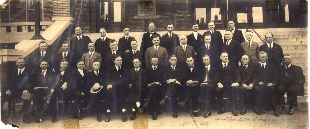 1921 Charter Members-portrait